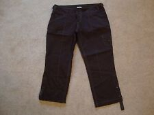 "ANTHROPOLOGIE ""SITWELL"" Cropped Capris ~ Brown ~ Size 2 - EUC!"