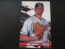 2003 Carl Sadler Cleveland Indians Post Cards / Postcards
