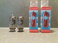 Very rare matched pair Telefunken ECC83 12AX7 with <> early 1960's tube!