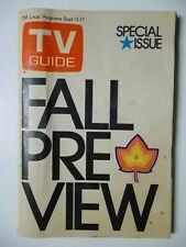 New York St TV GUIDE 1971 FALL PREVIEW Columbo McCloud McMillan and Wife Cannon