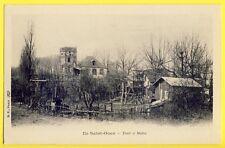 CPA 1900 ILE SAINT OUEN (Seine St Denis) TOUR à MAHU Cabaret débit de Boissons