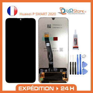 Ecran lcd + vitre tactile Huawei P Smart 2020 Original + colle + outils