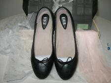 Bloch Fonteyn Leather Ballet Flats Black New w/ box