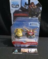Hero Portal How to train your dragon Dream Works meatlug cloud jumper figures