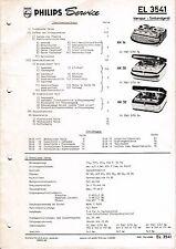 Service Manual-Istruzioni per el PHILIPS 3541/rk 14/rk 30/rk 32