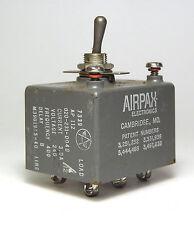 Kippschalter Airpax AP112 mit Sicherungs-Automat, 3 Ampere, 240 VAC / 400 Hz