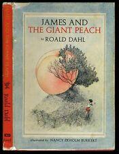 Dahl, Roald: James and the Giant Peach HB/DJ 1st/2nd (1961)