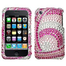 Peacock Woven Bling Case Cover for Apple iPhone 3G 3GS
