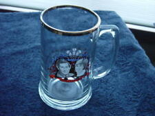 Glass Mug 1981 Marriage Princess Diana Prince Charles