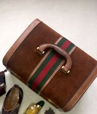 Gucci Case RRP £2500 Vanity Beauty Train Travel Case Vintage Luggage Bag