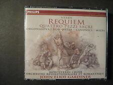 MESSA DA REQUIEM - GiuseppeVerdi (CD, 2 Discs, Philips) Gardiner