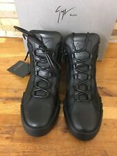 Giuseppe Zanotti Black Shark Mid-top Trainer Size UK 10/EU 44 Sold Out!!!