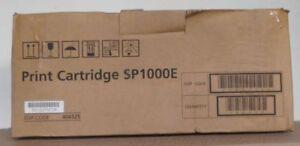 Original  Ricoh SP1000E Toner  406525  für F 110 111 SP 1000 S SF black OVP