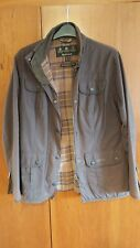 Womens Barbour Brown Lightweight Spring Jacket Size 12