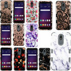 For LG K30 2019 IMPACT TUFF HYBRID Protector Case Skin Phone Cover Accessory