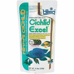 Hikari Cichlid Excel Medium Floating Pellets 250g Aquarium Fish Food