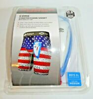 Shock Doctor Compression Shorts with Bio-Flex Supporter Cup Included Boys XL/Med
