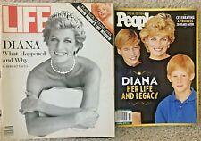 Vintage Life & People Magazine - Princess Diana