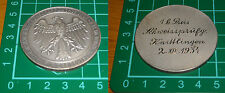 rara medaglia tedesca 1934 fachschaft dachshunde hundewesen