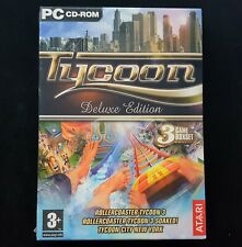 Tycoon Deluxe: RollerCoaster Tycoon 3 + Soaked + Tycoon City New York (PC) - NEW