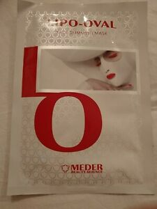 MEDER Beauty Science LIPO-OVAL Anti Age Face Slimming Sculpting Lifting Mask