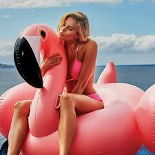 2017 Summer Swimming Pool Inflatable Swim Ring Giant Rideable Flamingo Float.Fun