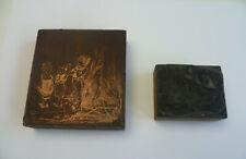 "Hausausbau Metall /"" Motiv /""      #1112 Druckplatte"