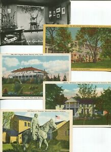 Group of Will Rogers Home and Birthplace Postcards - 9 cards total