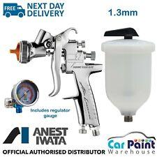 ANEST IWATA AZ3 THE-S Impact Chrome Flash Spray Gun - Black