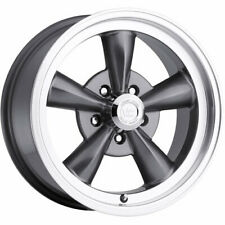 4 - 17x8 Gunmetal Vision Legend 5 Wheel 5x5 (5x127) +0 Offset 141H7873GM0