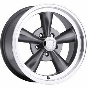4 - 17x8 Gunmetal Vision Legend 5 Wheel 5x5 (5x127) +0 Offset 141H7873GM0