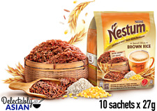 NESTLE NESTUM 3-in-1 Instant Cereal Drink BROWN RICE (10 sachets x 27g)