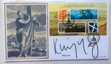 30.11.2006 Celebrating Scotland-St. Andrews-Signed KIRSTY YOUNG-Benham FDC