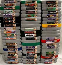 Nintendo 64 N64 Authentic Games - Create Your Own Lot - READ DESCRIPTION
