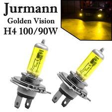 2x Jurmann H4 100/90W 12V Golden Vision Gelb Ersatz Scheinwerfer Halogen Lampe