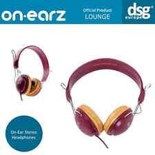 GENUINE ON-EARZ LOUNGE HEADPHONES PRAWN GOLD OE-LOU12