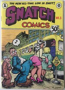 Snatch Comics #3 Apex Novelties August 1969 1st Print