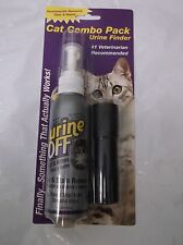 URINE OFF CAT AND KITTEN ODER STAIN REMOVER FINDER BLACK LIGHT NEW