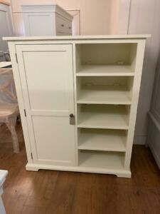Cotswold Painted Childs Wardrobe With Shelves Cotswold Co Clearance