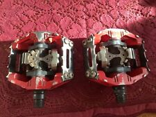 "Shimano DX platform/clipless pedals 9/16"""