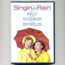 Singin' in the Rain 1952 musical movie, new Dvd Gene Kelly, O'Connor, Reynolds