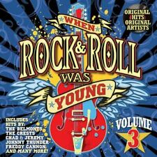 Various Artists : When Rock & Roll Was Young 3 / Various Rock CD