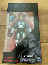 "Star Wars The Black Series Jango Fett 6"" inch #15 Hasbro 2015"