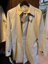 Burberry Trench Coat 54 R Belt less Removable Lining.