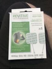 Revitive Electrode Pads  revitive circulation booster 4 Pairs & 2 Cables