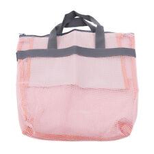 Mesh Beach Bag Hand-held Makeup Towels Storage Tote Wash Pouch Bath Bags Z