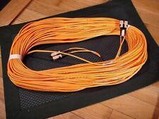 50M SC-SC Fiber Optic Cable M/M Duplx SC to SC NEW!