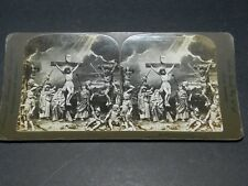 VINTAGE 1906  STEREOVIEW THE CRUCIFIXION AMERICAN STEREOSCOPIC NY