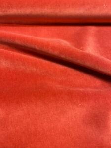 Velvet Upholstery Pompeii Rust Bentley Valdese Weavers Fabric by the yard
