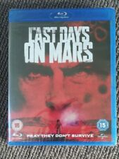 THE LAST DAYS OF Mars - UK Blu-ray - New and Sealed
